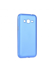 Funda TPU Jelly Case Flash Mat Samsung Galaxy J3 2017 J330 azul