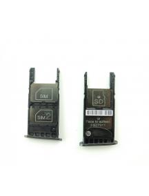 Zócalo de SIM + micro SD Motorola Moto G5 versión dual SIM negro