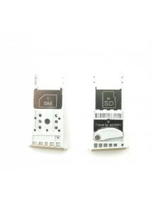 Zócalo de SIM + micro SD Motorola Moto G5 versión mono SIM dorado