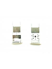 Zócalo de SIM + micro SD Motorola Moto G5 Plus versión mono SIM dorado