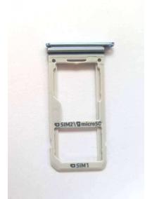 Zócalo de SIM + SD Samsung Galaxy S8 Dual G950 azul