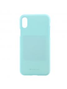 Funda TPU Goospery Soft iPhone X verde