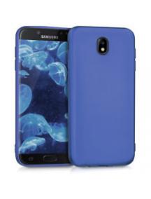 Funda TPU Goospery Soft Samsung Galaxy J7 2017 J730 azul