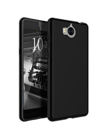 Funda TPU Jelly Case Flash Mat Huawei Ascend Y6 2017 - Y5 2017 - Nova Young negra