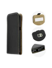 Funda Solapa Slim Flexi Motorola Moto G4 negra