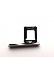 Zócalo de tarjeta micro SD Sony Xperia XZ1 G8441 compact plata
