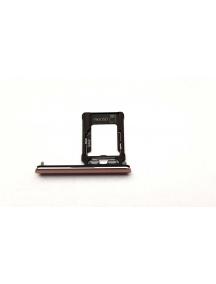Zócalo de SIM Sony Xperia XZ1 dual SIM G8342 (SIM 2) rosa