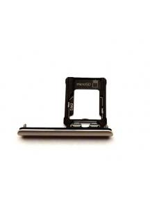 Zócalo de SIM Sony Xperia XZ1 dual SIM G8342 (SIM 2) plata