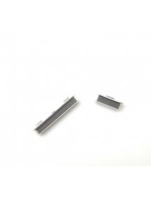 Botón de volumen y encendido Sony Xperia XZ1 G8341 - G8342 plata