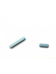 Botón de volumen y encendido Sony Xperia XZ1 compact G8441 azul