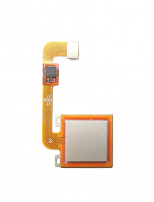 Cable flex de lector de huella digital Xiaomi Redmi Note 4x dorado