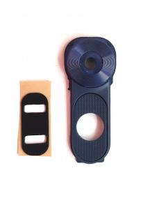Embellecedor de cámara y flash LG V10 H960 azul