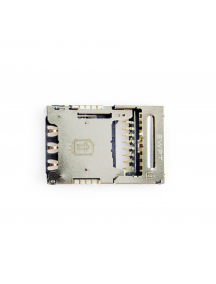 Lector de SIM + micro SD LG K10 2017 M250 - K4 - K8 2017