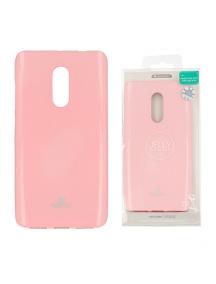 Funda TPU Goospery Xiaomi Redmi Note 4 rosa claro