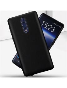 Funda TPU Matt Nokia 8 2017 negra