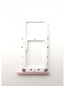 Zócalo de SIM + SD Xiaomi Mi A1 rosa
