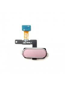 Cable flex de boton home Samsung Galaxy J5 2017 J530 rosa