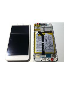 Display Huawei Honor 6C Pro (JMM-L22HN) blanco - dorado
