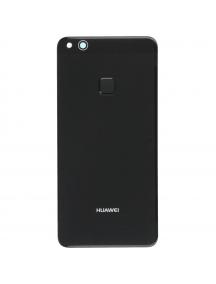 Tapa de batería Huawei P10 lite negra con sensor de huella