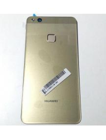 Tapa de batería Huawei P10 lite dorada con sensor de huella
