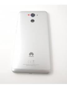 Carcasa trasera Huawei Y7 plata