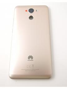 Carcasa trasera Huawei Y7 dorada