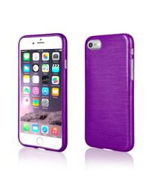 Funda TPU Metalic iPhone 7 - 8 violeta