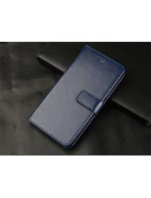 Funda libro TPU Huawei Honor 9 lite azul