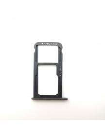 Zócalo de SIM + micro SD Huawei Huawei P9 Lite 2017 - Honor 8 Lite negro