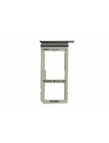 Zócalo de SIM + micro SD Samsung Galaxy Note 8 N950 negro