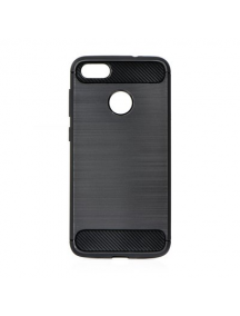 Funda TPU Carbon Motorola E4 Plus