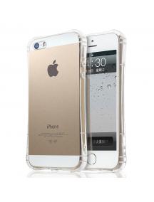Funda TPU antichoque iPhone 5 - 5S - SE transparente