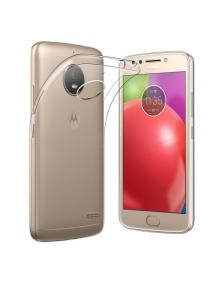 Funda TPU slim Motorola E4 transparente