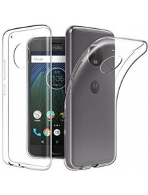 Funda TPU slim Motorola G5s Plus transparente
