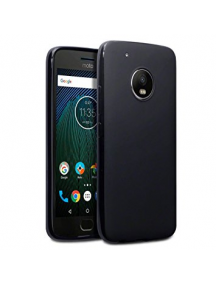 Funda TPU slim Motorola G5s Plus negra