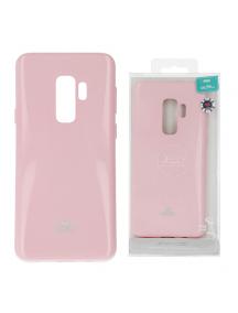 Funda TPU Goospery Samsung Galaxy S9 Plus G965 rosa claro