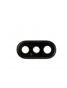 Ventana de cámara iPhone X negra