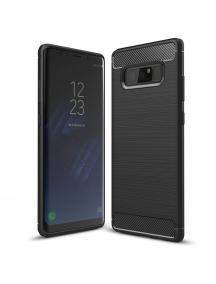 Funda TPU Carbon flexible Samsung Galaxy Note 8 N950 negra