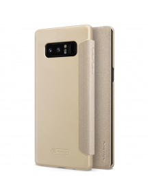 Funda libro TPU Nillkin Sparkle Samsung Galaxy Note 8 N950 dorada