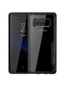 Funda TPU Survival iPaky Samsung Galaxy Note 8 N950 negra - transparente