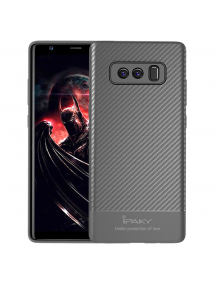 Funda TPU Carbon iPaky Samsung Galaxy Note 8 N950 gris