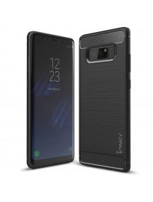 Funda TPU slim Carbon iPaky Samsung Galaxy Note 8 N950 negra