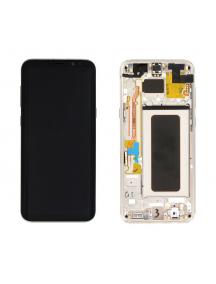 Display Samsung Galaxy S8 Plus G955 dorado