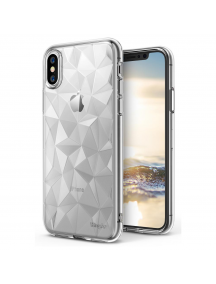 Funda TPU Ringke Air Prism 3D iPhone X transparente