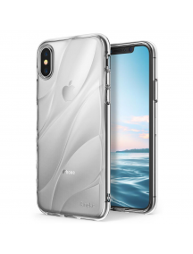 Funda TPU Ringke Flow iPhone X transparente