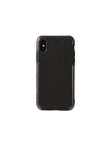 Funda TPU Remax Serui RM-1655 iPhone X fibra de carbono