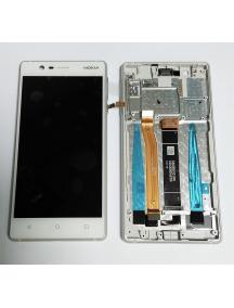 Display Nokia 3 2017 20NE1SW0001 blanco - plata