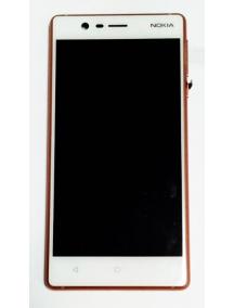 Display Nokia 3 2017 20NE1RW0003 blanco - cobre