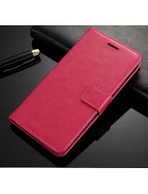 Funda libro TPU Huawei Honor 7C rosa