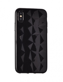 Funda TPU Diamond iPhone 7 Plus - 8 Plus negra